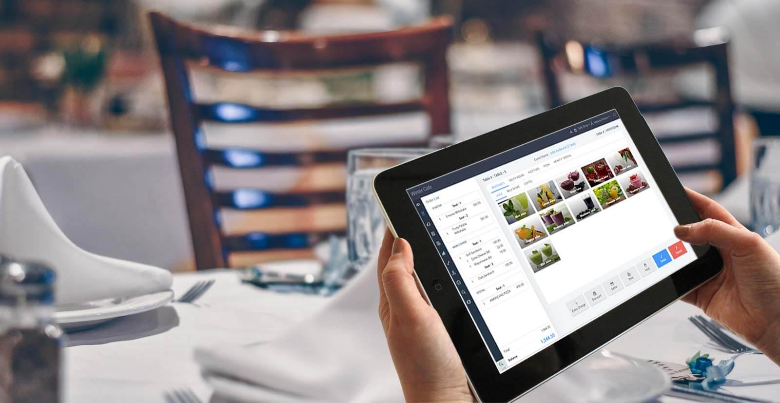 Sử dụng phần mềm quản lý nhà hàng quán ăn