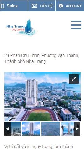 Website giới thiệu căn hộ