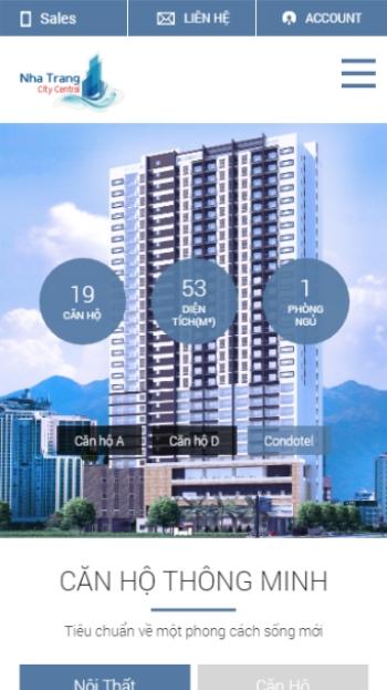 Website bất động sản Nha Trang
